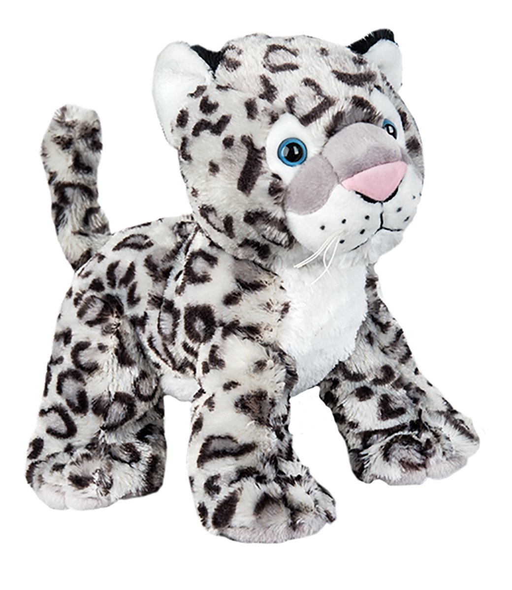 Kit With Cute Backpack No Sew Teddy Mountain NY Winter the Snow Leopard Build Your Own Stuffed Animal