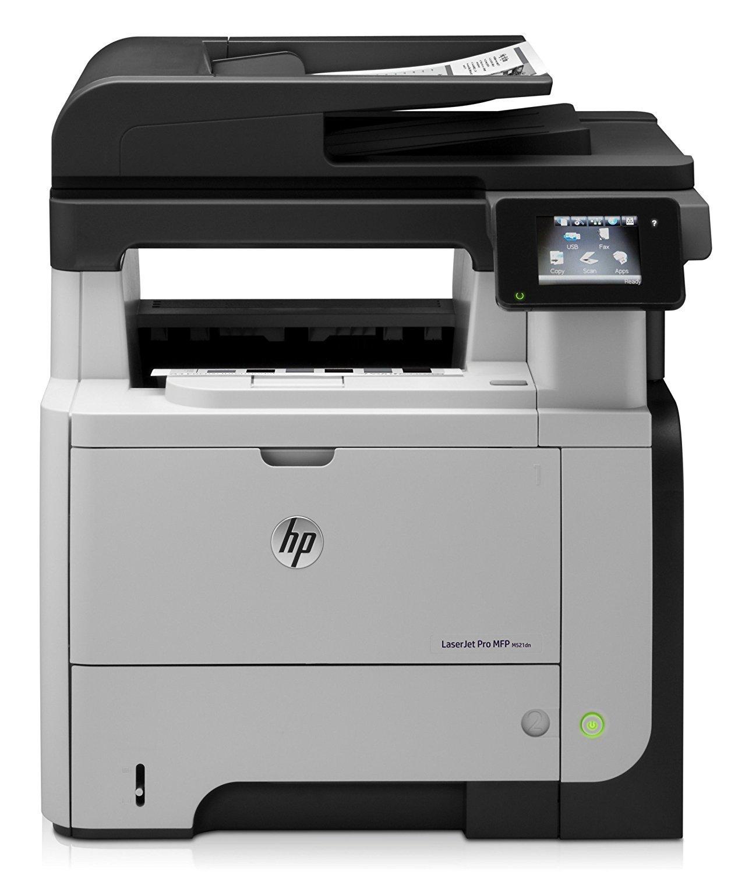 HP Laserjet Pro M521dn All-in-One Laser Printer, Amazon Dash Replenishment Ready (A8P79A)