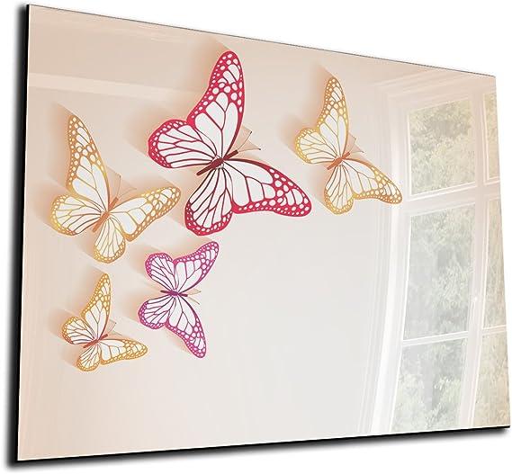 DEKOGLAS Glas Magnettafel einfarbig Rosa FMK-20-041 Magnetwand Memoboard 30x80 cm Pinnwand magnetisch Wandtafel f/ür K/üche /& Wohnzimmer