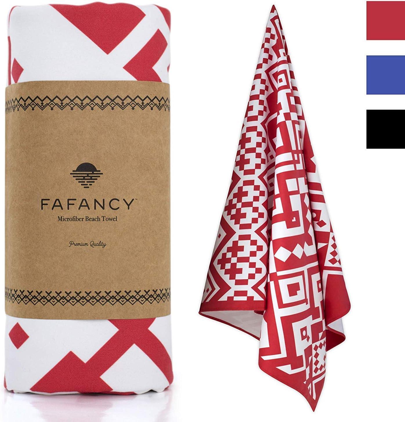 FAFANCY Microfiber Oversized  Pool Towel
