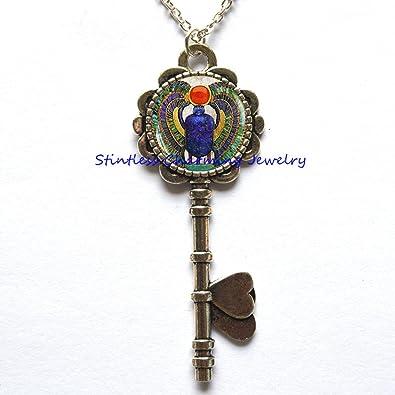 Amazon egyptian scarab pendant ancient egypt jewelry egypt egyptian scarab pendant ancient egypt jewelry egypt key necklace egyptian jewelry scarab aloadofball Choice Image