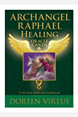Archangel Raphael Healing Oracle Cards: A 44-Card Deck and Guidebook Cards