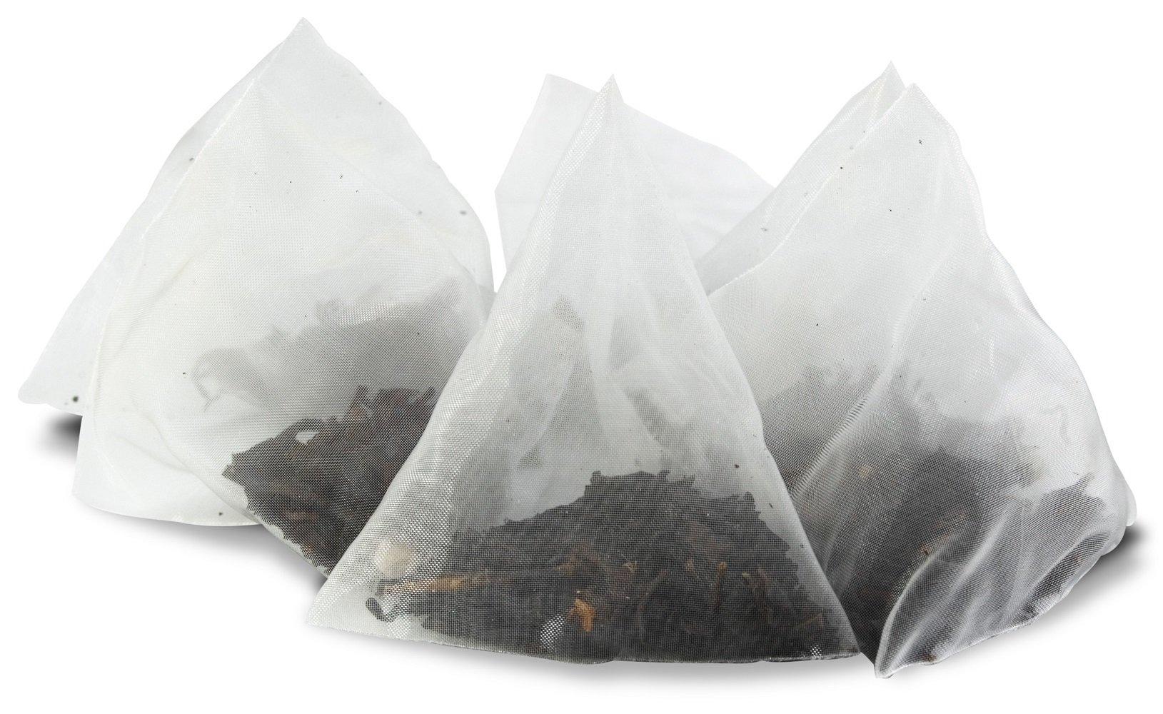 White Lion Ginger Peach Bulk Sachet Resealable Tea Bag, 200 Count by White Lion