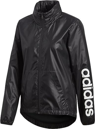 Linear Windbreaker Jacket