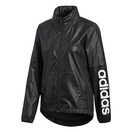 12fccdcf4077 Amazon.com  adidas Women s Linear Windbreaker Jacket  Sports   Outdoors