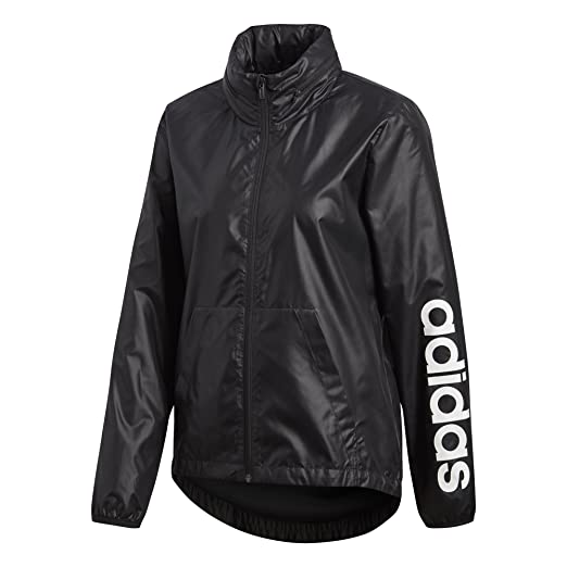 dd66bdd29 Amazon.com: adidas Women's Linear Windbreaker Jacket: Clothing