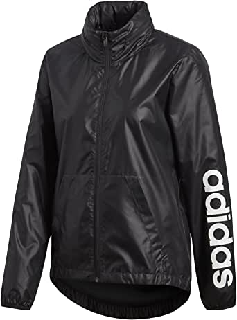 Abandono de madera caliente  Amazon.com: adidas Women's Linear Windbreaker Jacket: Clothing