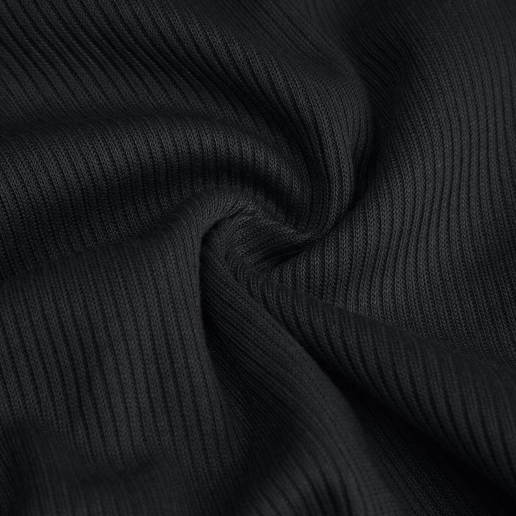 Garish Sexy Women's Bow-Belt Short Sleeve Solid Tie V-Neck Shirt Pullover Crop Tops Solid T-Shirt Dark Gray by Garish (Image #6)