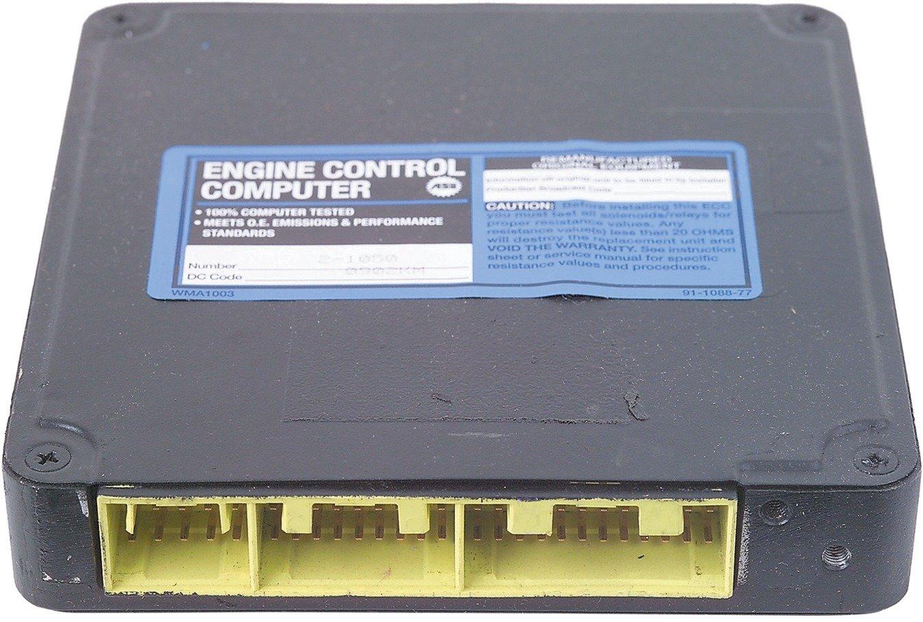 Cardone 72-1050 Remanufactured Import Computer A1 Cardone A1  72-1050