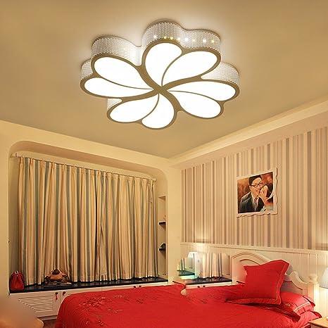LighSCH Luces de techo Habitación romántica lámpara Led ...