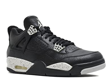 Nike Men s Air Jordan 4 Retro Ls Basketball Shoes Black  Amazon.co ... 7cc67c432