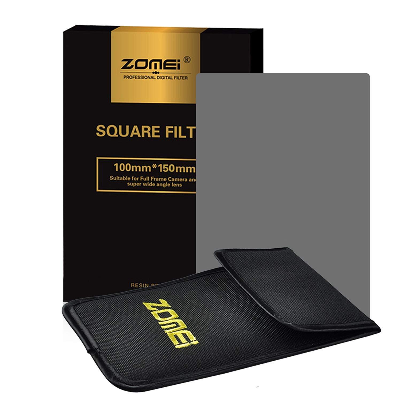 Filtro ZOMEI Quadrato ND Filtro ottico grigio neutro ND8 da 100x150 mm Compatibile con la serie Cokin Z-Pro