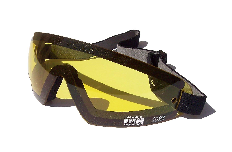 Motocicleta Sorz/anti-niebla fizzco paracaidismo gafas de seguridad | Lente amarilla Lanes Eyewear USA