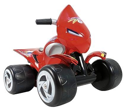 Amazon.com: Injusa 6 V Quad Alien Ride On: Toys & Games