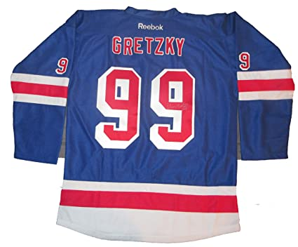 free shipping c50a8 03804 Wayne Gretzky Autographed New York Rangers Jersey W/PROOF ...