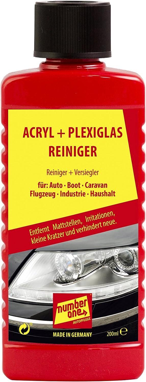 Auto Number One Pflege 1076 Acryl Und Plexiglasreiniger 200 Ml Auto