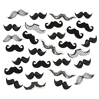 Fun Express - Mustache Confetti (2oz) for Party - Party Decor - General Decor - Confetti - Party - 1 Piece: Toys & Games