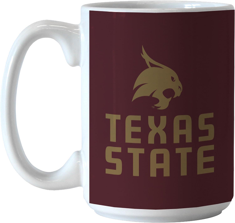 14-ounce NCAA Texas State Bobcats Sublimated Victory Mug