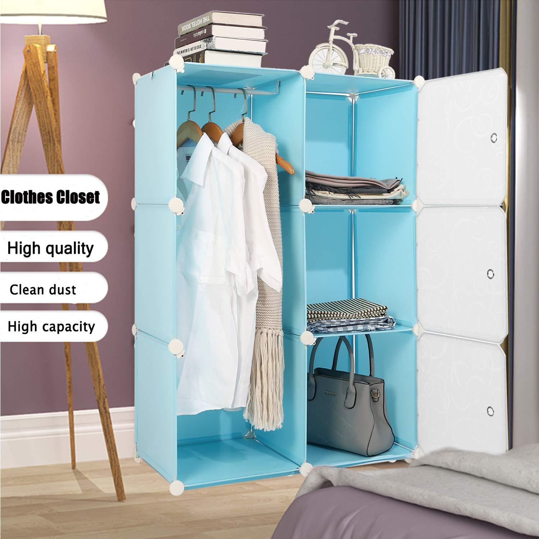 the blue closet
