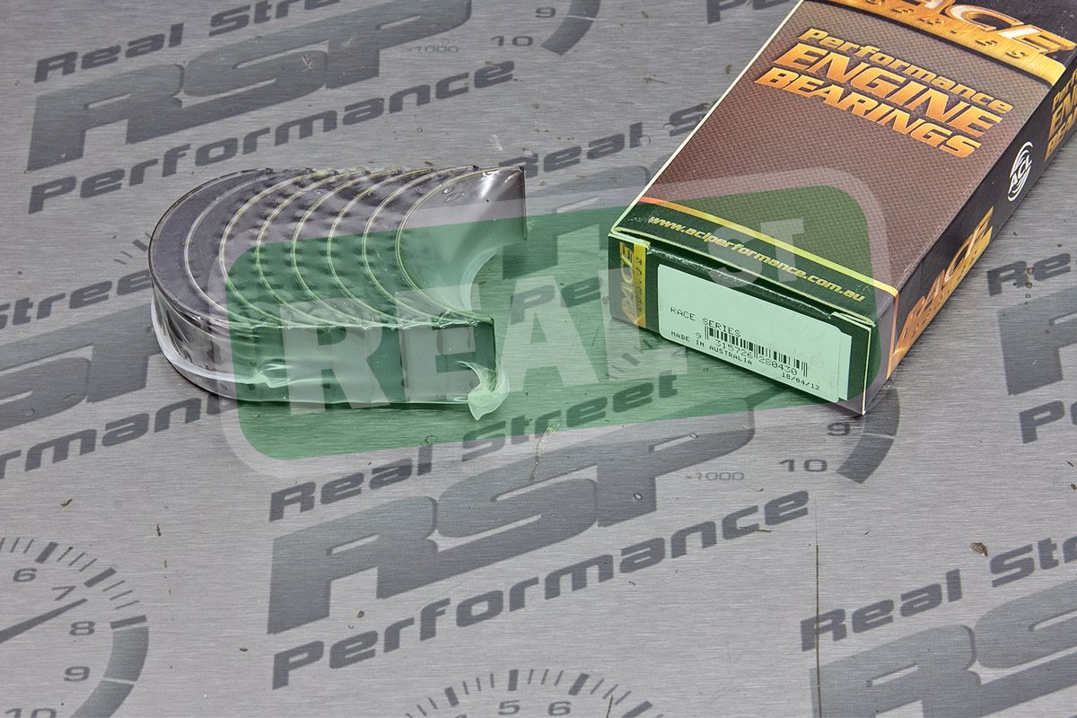 ACL 4B1912H-.025 Oversized High Performance Rod Bearing Set for Honda, 0.025mm