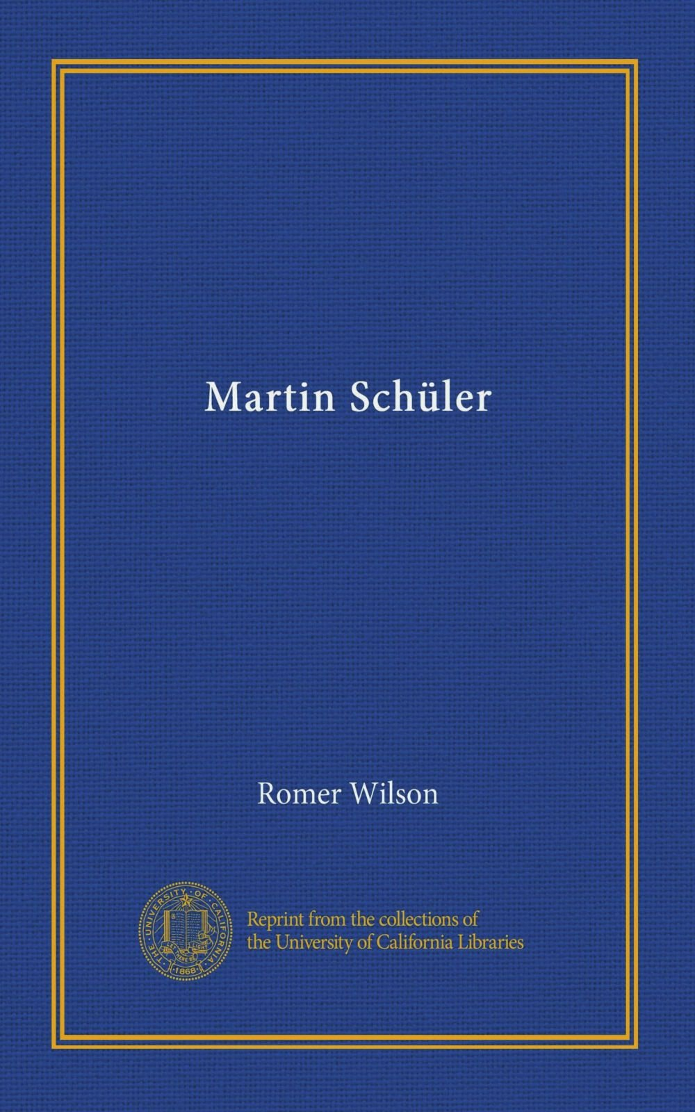 Martin Schüler ebook