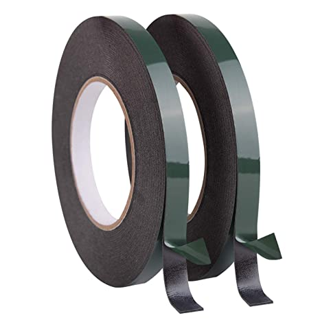 10m Double Sided Waterproof Adhesive Strong Foam Sponge Black Tape For Car Trim