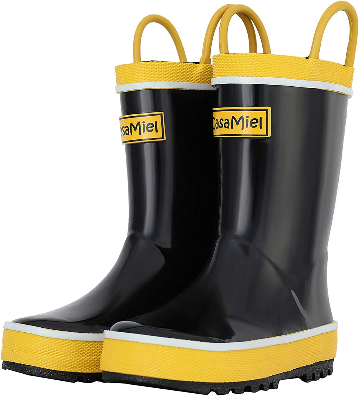 CasaMiel Toddler Rain Boots for Kids