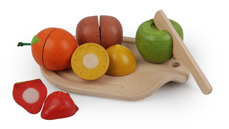 PT3600 Wood Plantoys Assorted Fruit Set