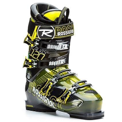 Rossignol Men s Alias Sensor 120 Yellow Transparent All Mountain Ski Boot -  24.5 40de2828924db
