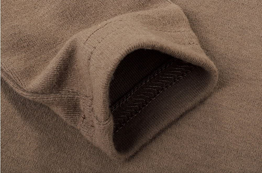Casa Baby Turtleneck Sweatshirt Kids Long Sleeve Plain Basic Tops Girls Boys Cotton T-Shirt