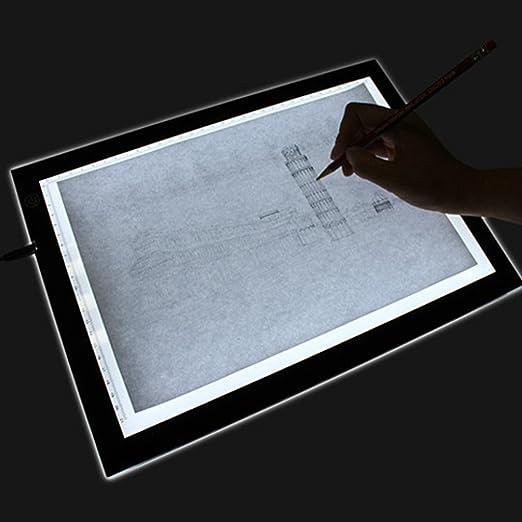 3 opinioni per A4 Led Tavoletta luminosa con Tavolo Scatola luminosità regolabile un 2 m cavo