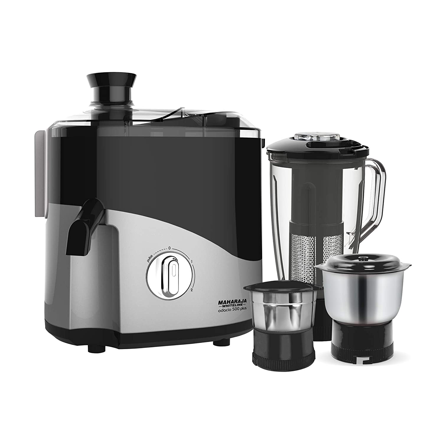 Maharaja Whiteline Jmg Odacio Plus 500-Watt Juicer Mixer