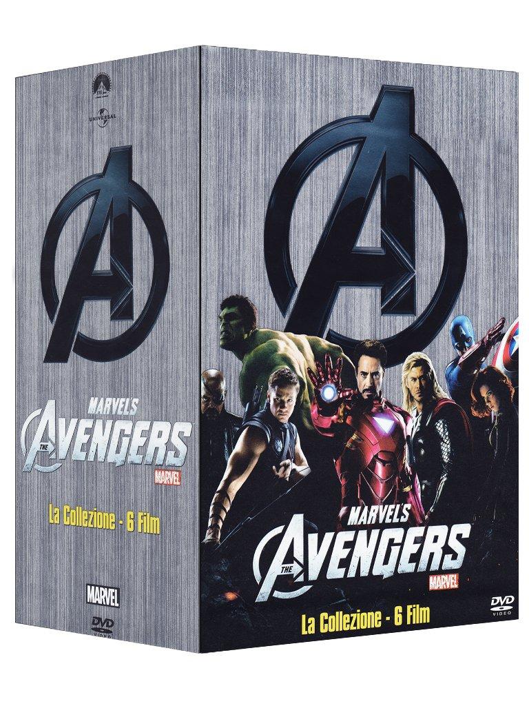 Avengers (Fase 1) - Collezione 6 Film [DVD]