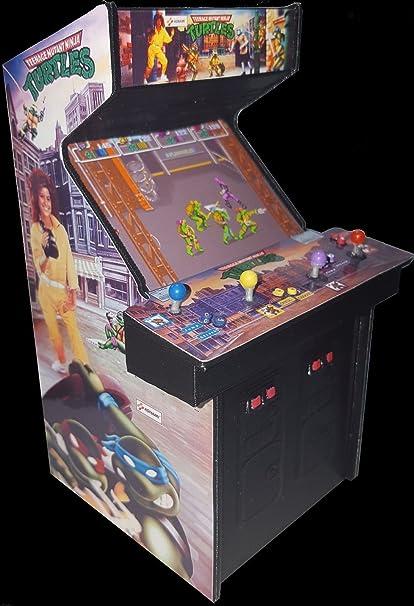 Amazon.com : Mini Teenage Mutant Ninja Turtles (TMNT) Arcade ...