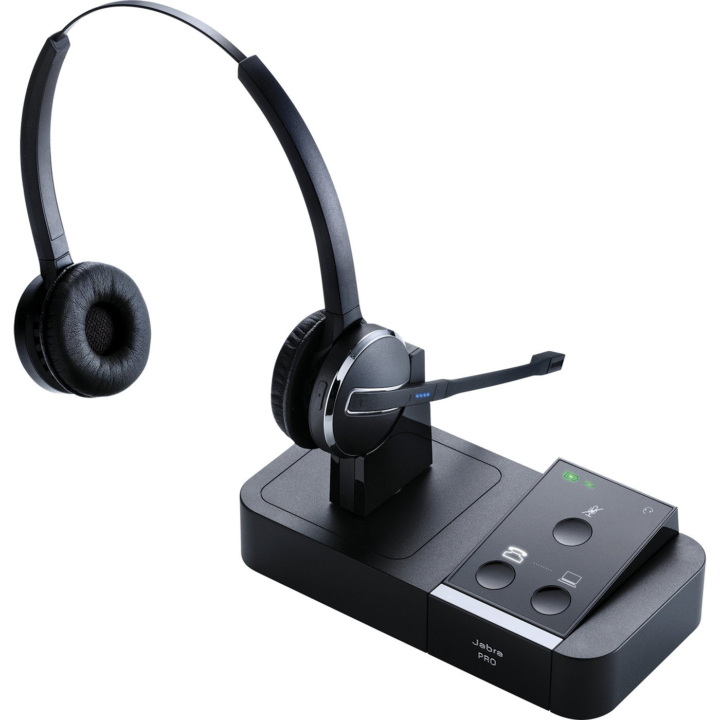 Jabra PRO 9450 Duo Flex-Boom Wireless Headset for Deskphone & Softphone