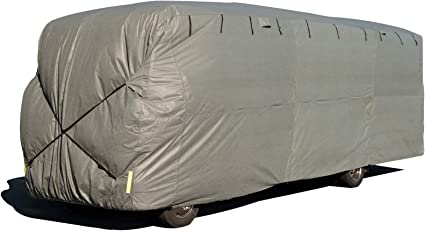 ADCO 34828 Designer Series Gray//White 40 1-43 Dupont Tyvek Class A Motorhome Cover