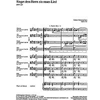 Singet dem Herrn ein neues Lied - SATB/SATB