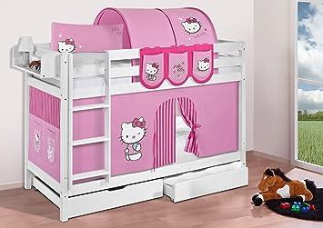 Etagenbett Jelle : Buche massivholz etagenbett jelle hello kitty rosa hochbett