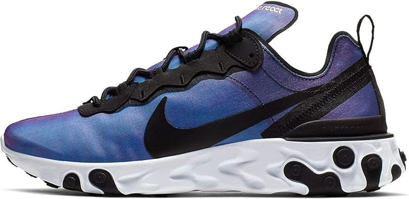 Nike React Element 55 Prm Su19, Scarpe da Atletica Leggera  1fS49q