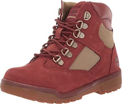 Fabric/Leather Field Boot (Little Kid