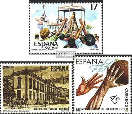 Amazon.com: Spain 2728,2729,2732 (Complete.Issue.) 1986 ...