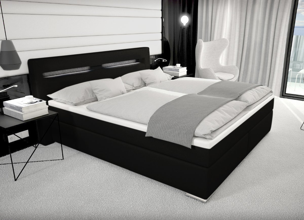 bett led beleuchtung. Black Bedroom Furniture Sets. Home Design Ideas