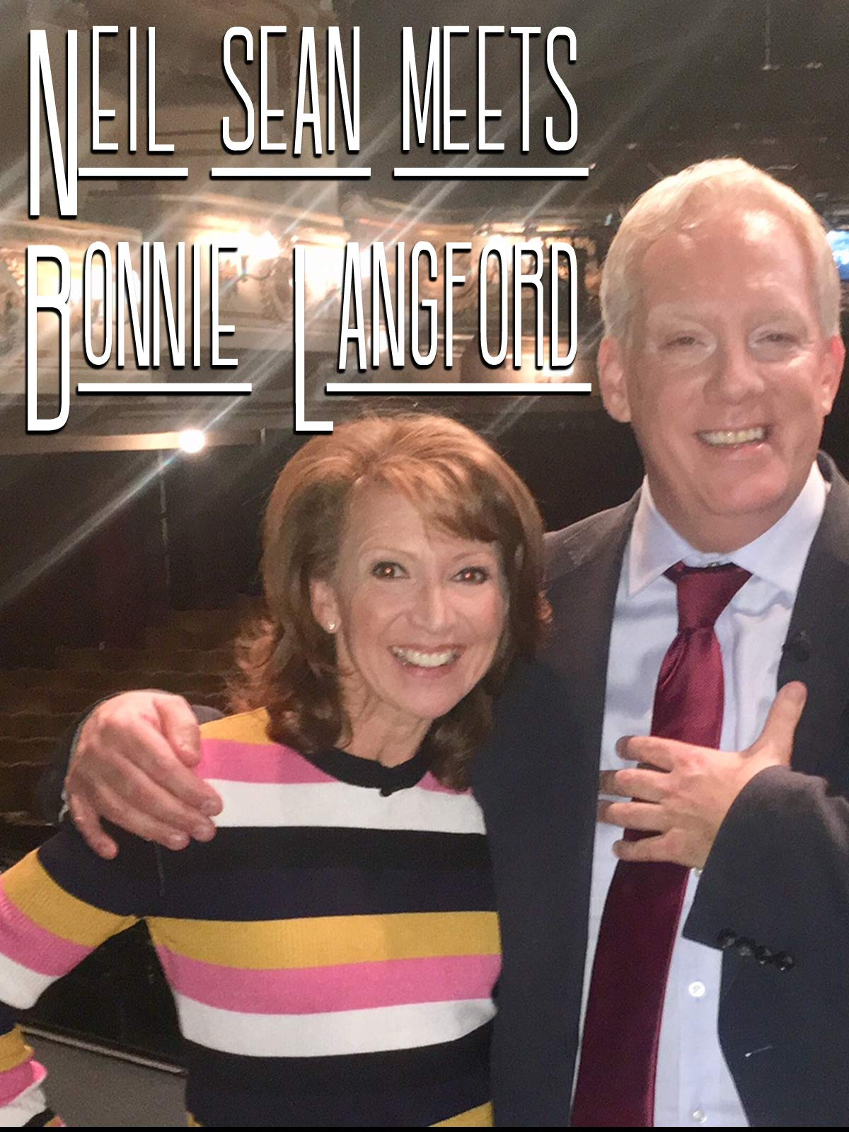 Neil Sean meets Bonnie Langford on Amazon Prime Video UK