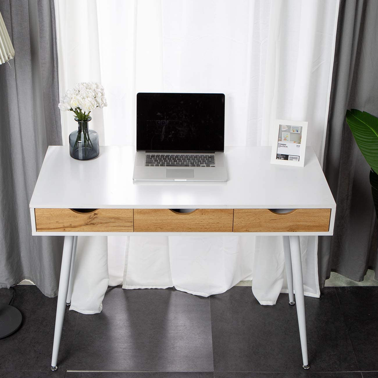 DlandHome 43 Inches Home Desk
