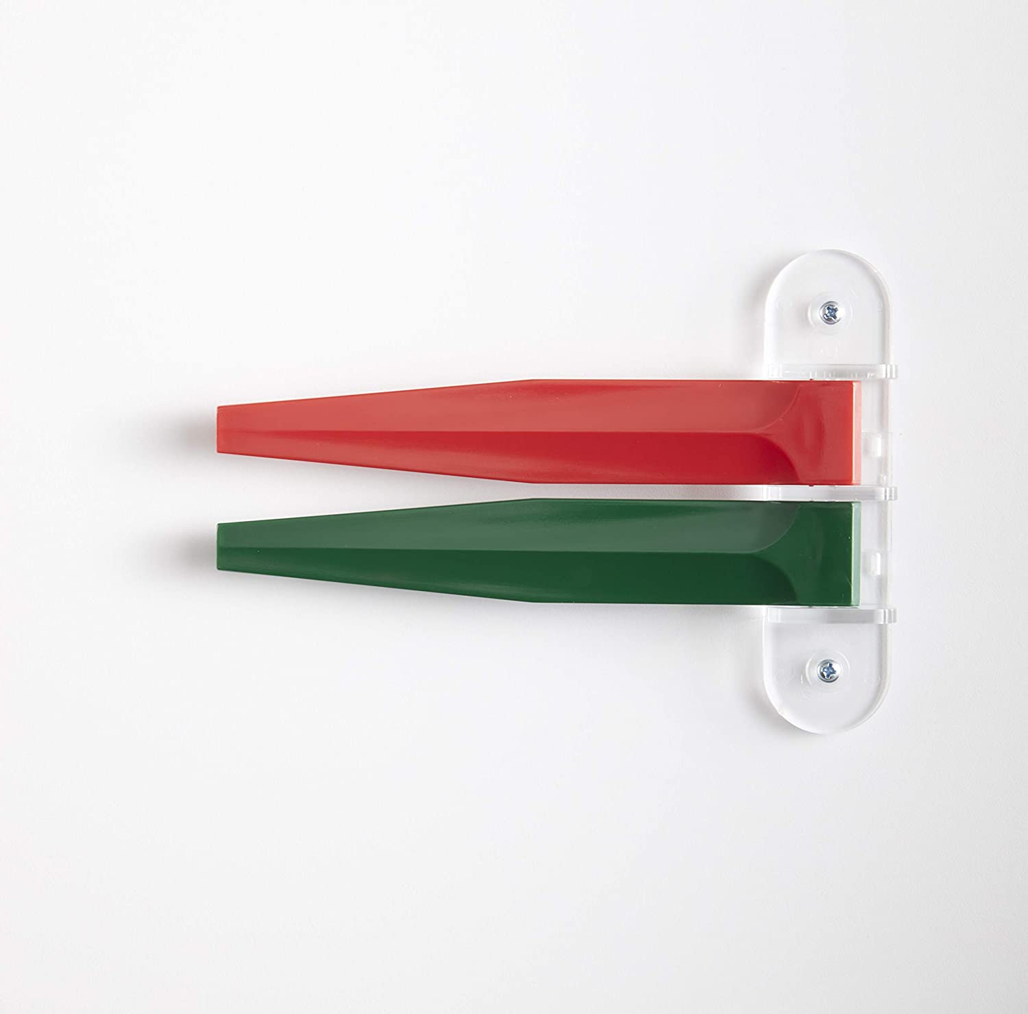 Exam Room Signals - Kull Industries - Medical Door Flags for Hospitals, Doctors Offices, Clinics (Primary Colors, 2 Flag System, 7