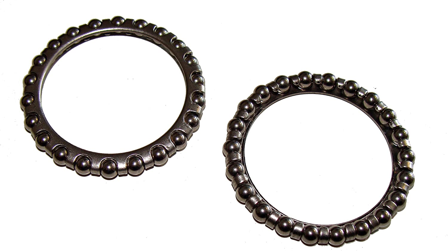 The Little Bike Shop 2 x Weldtite Headset Bearing Cage 532 Oversize (A Head), Caged Precision Bearings