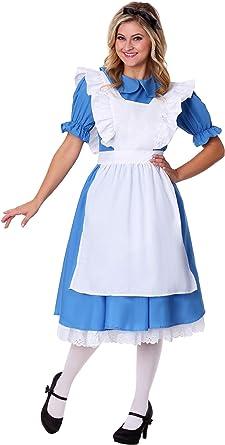 Fun Costumes – Adulto Disfraz de Alicia en el país de Las Maravillas: Amazon.es: Ropa y accesorios