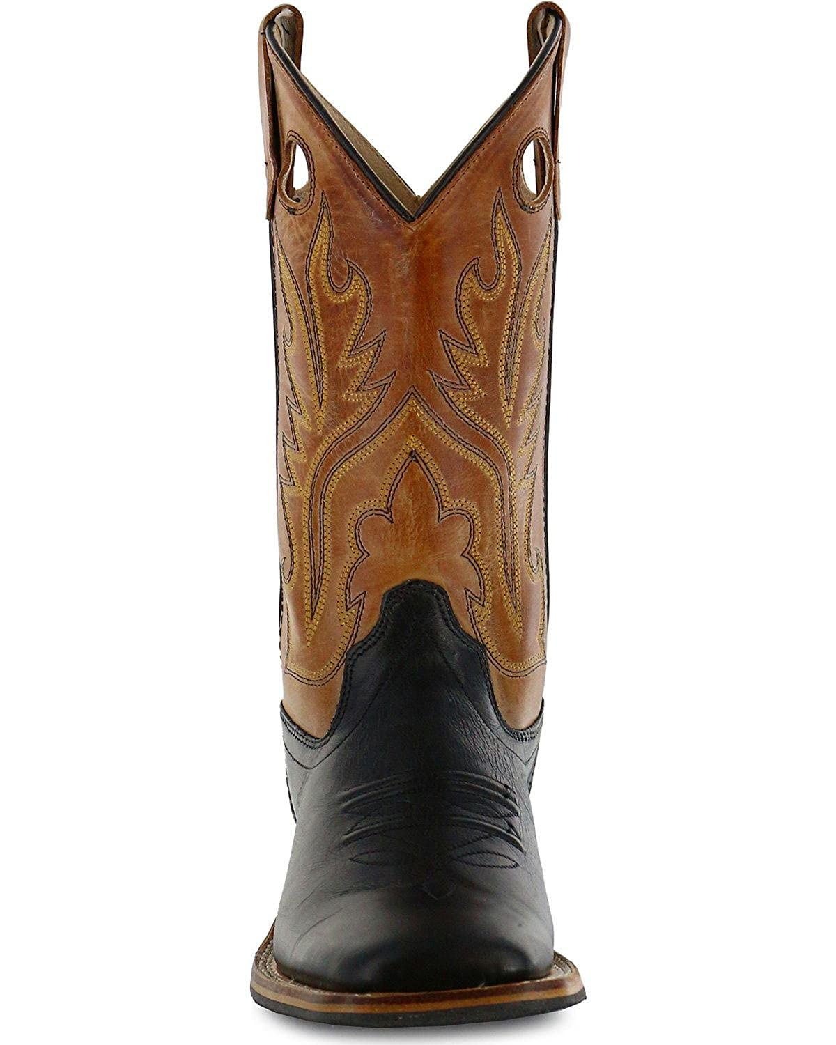 Bsy1810gy BSC1810 Old West Boys Canyon Cowboy Boot Square Toe