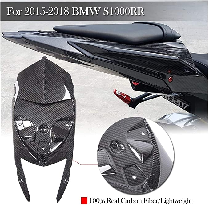 2013 2014 2015 2016 2017 BMW S1000RR S1000R Front Sprocket Cover Twill Carbon
