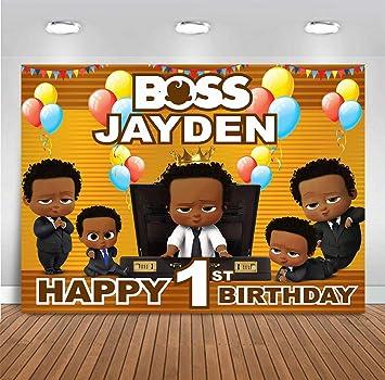Amazon Com Mmy Customizable Backdrops Boss Baby Theme